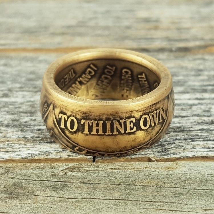 Custom AA Token Ring Punch Keyc - midnightjo | ello