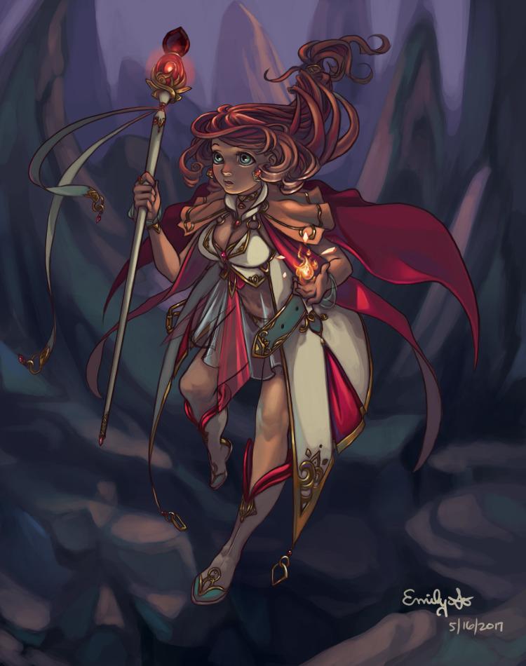 Character Concept Illustration - emilyso321 | ello