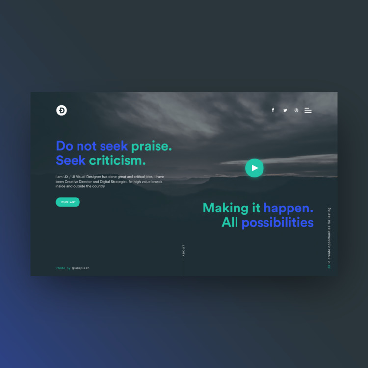 dailydesign, websites, webdesign - carballoeduar | ello