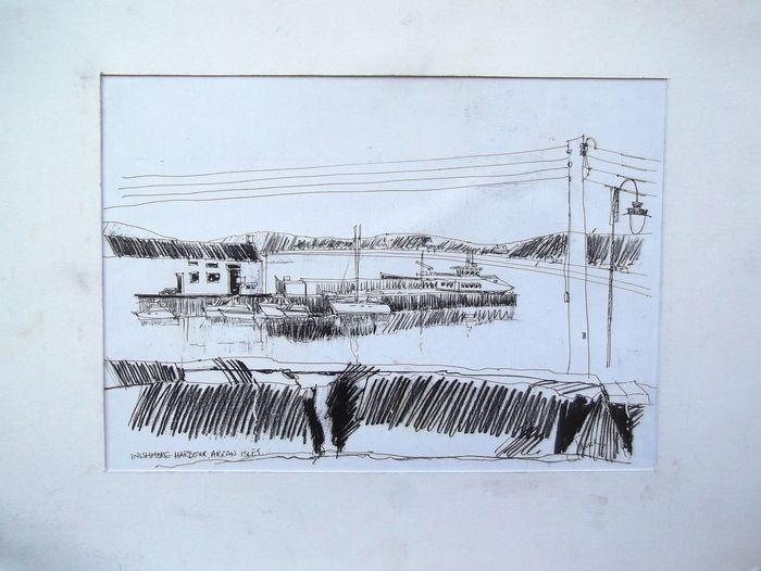 Inishmore harbour, Arran isles  - artstudioitaly | ello