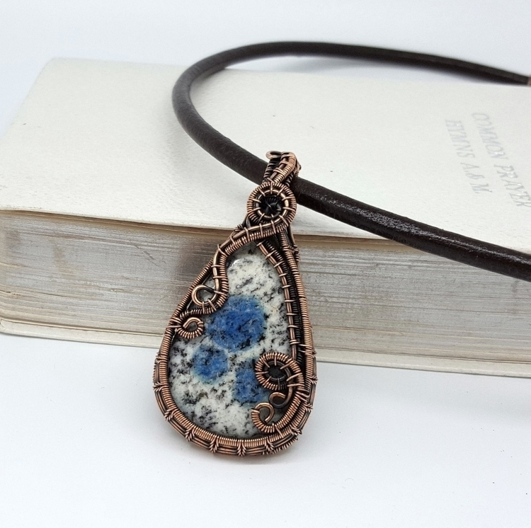 k2 copper pendant jewellery - copperjewelry - jakdawgems | ello