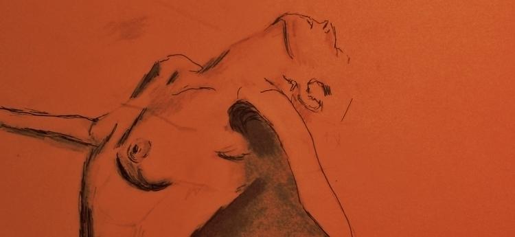 Sketch ///// ink paper - oil pa - guiart | ello