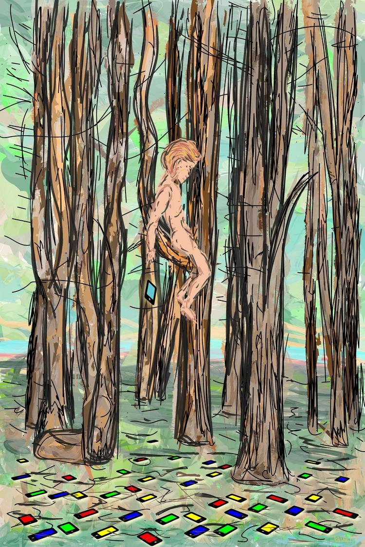Naked Screens / Joseph Annino  - joeaguy | ello