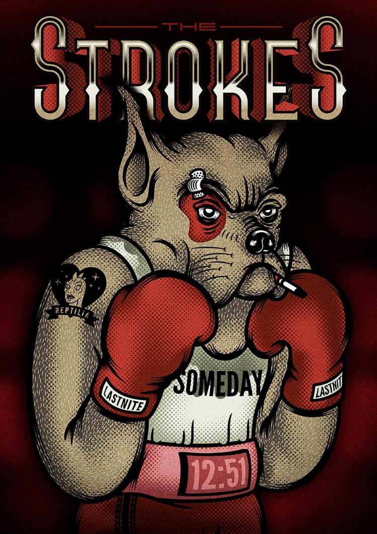 Fan Art Poster fot rockband wor - theroboto | ello