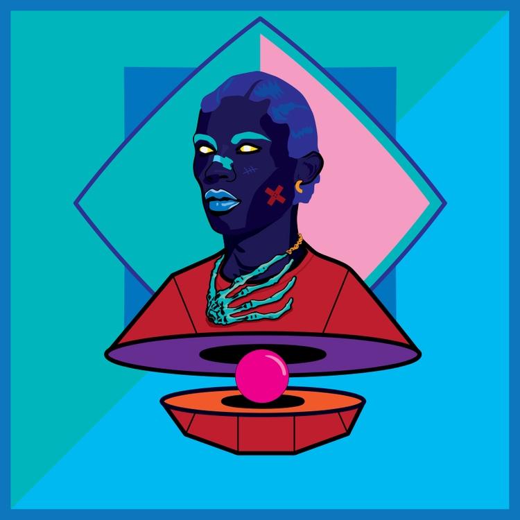 Hip Hop Renegade 1 - illustration - funpowder   ello