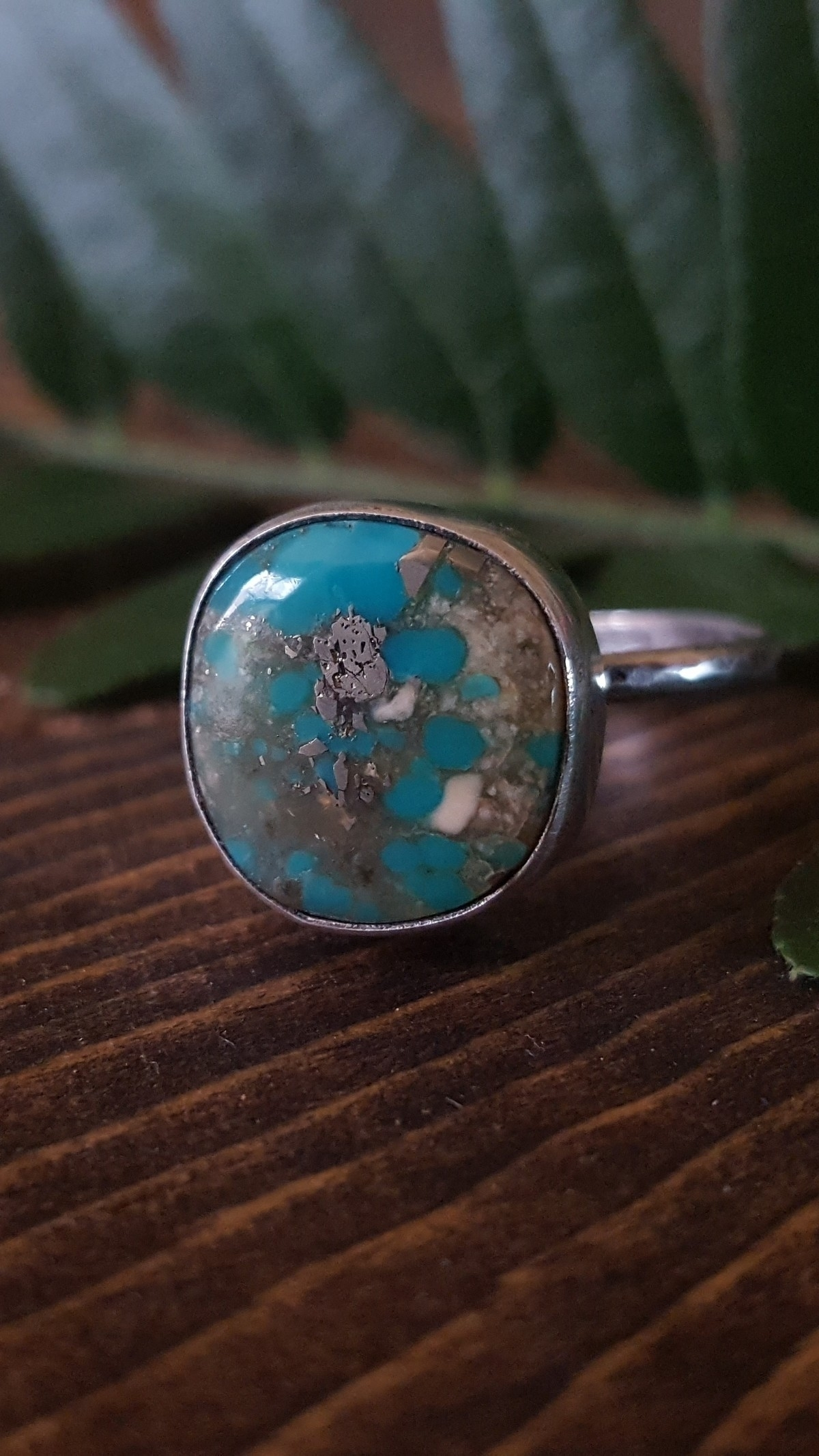 Campitos turquoise set silver   - crystalsandsucculents   ello