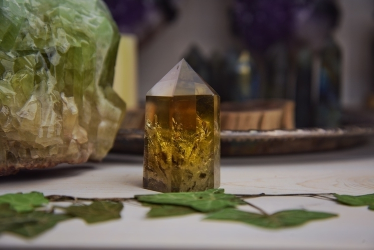 Rainbow filled Citrine shop - Metaphysical - theeancients | ello