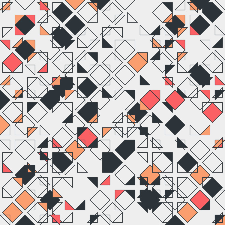 Geometric Shapes / 170617 - processing - sasj | ello