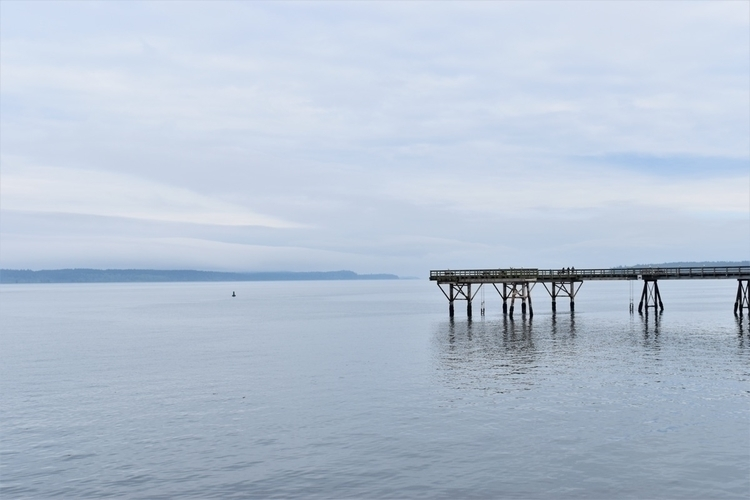 BC, Sidney, sea, corridor - edwardli | ello