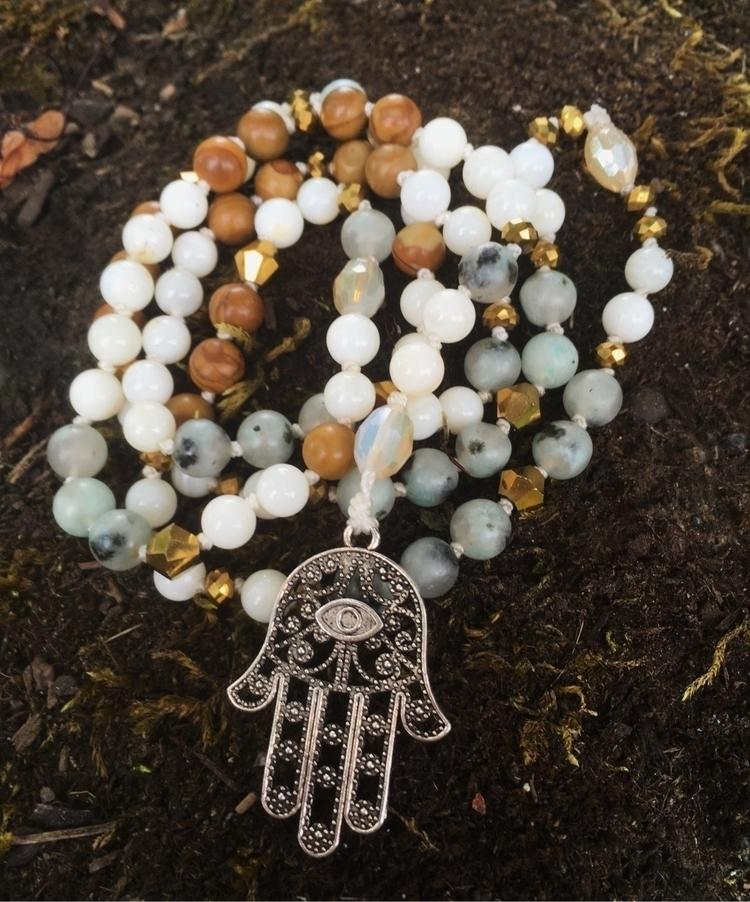 Sesame Jasper wood Lace beads g - gypsyxjewels | ello