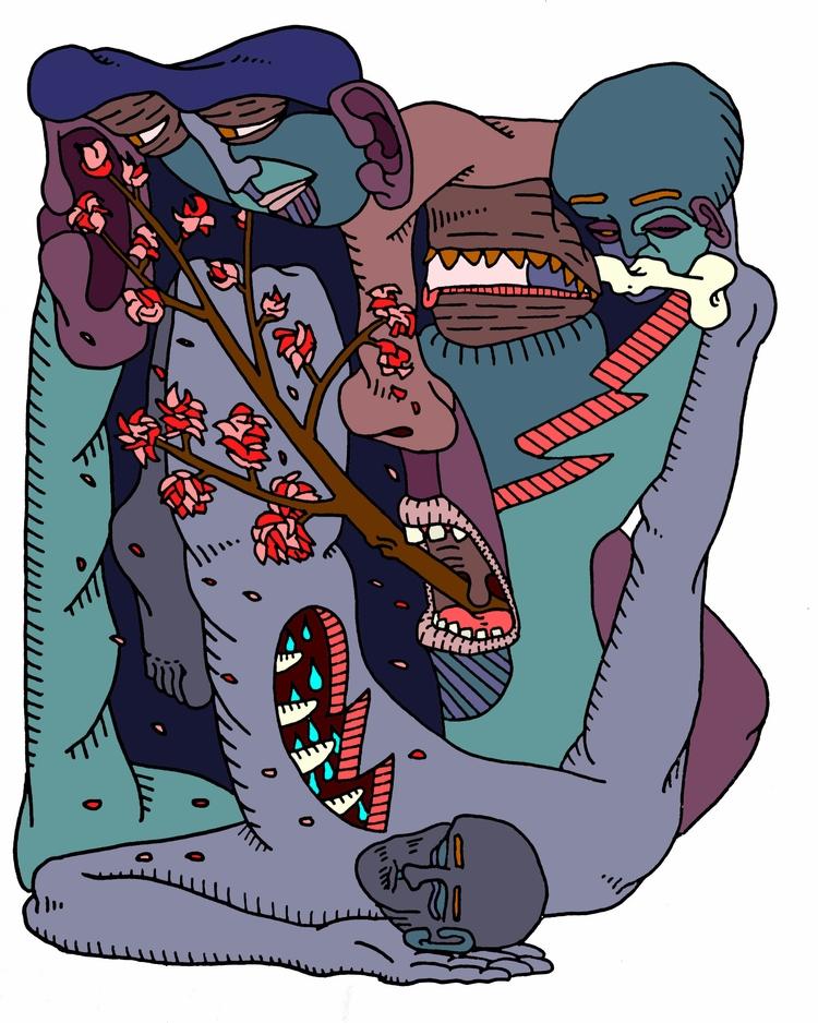 Dream - popsurrealism, paychoaurrealism - au_haus | ello