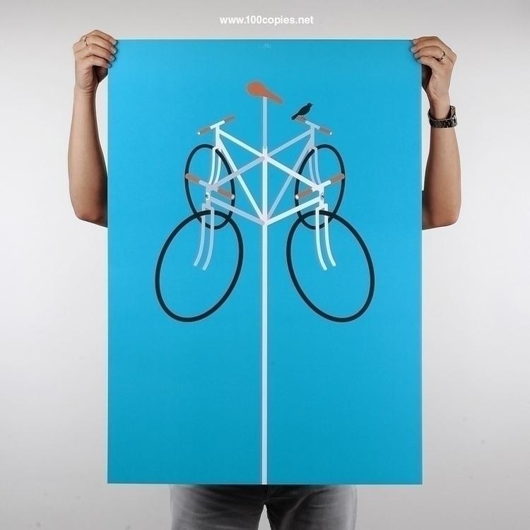 Design 07 - Wind wind good day - 100copies_bicycle_art | ello