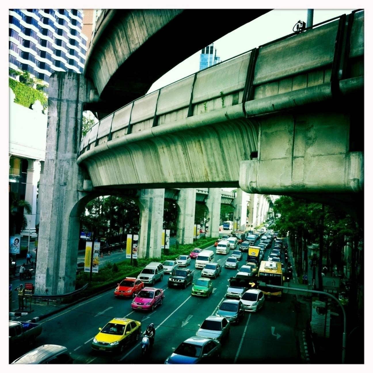 Skytrain Bangkok - Photography, Architecture - marcomariosimonetti | ello