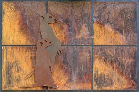 Meerkats ... making day - henkvanos | ello