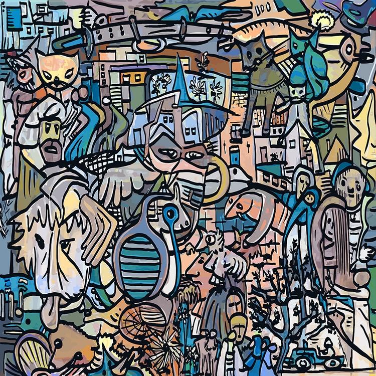 Doodles ... boring sheering - henkvanos | ello