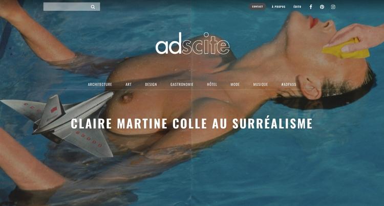 interview Adscite - collage, art - claire_martine_ | ello