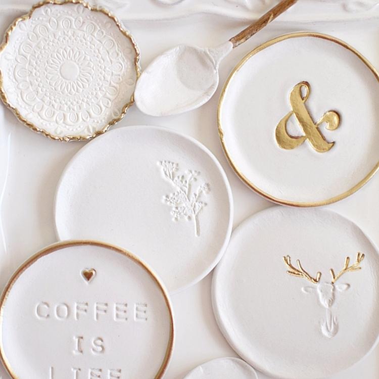 ring dishes  - clay, pottery, ringdish - azandairalee | ello