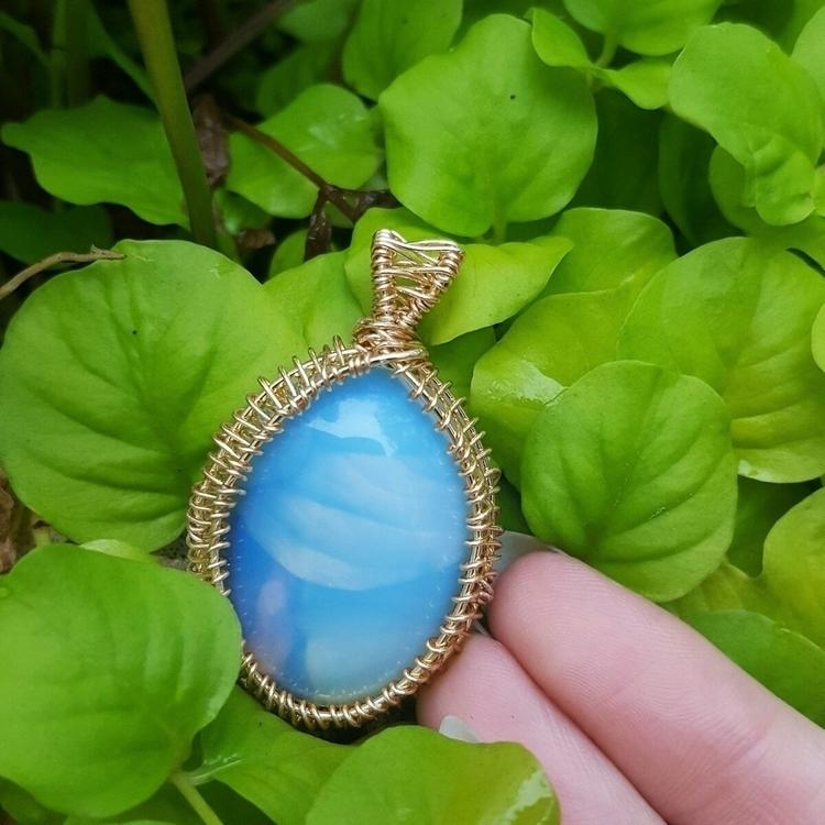 custom order:gem - handmade, crystaljewelry - lunationcreations | ello