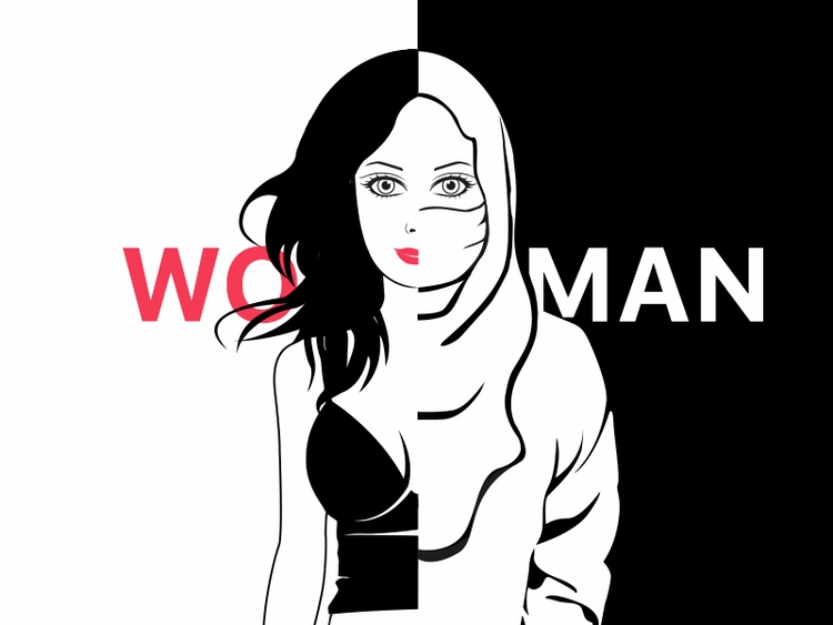 sides woman male-dominated worl - yunuskhantwin | ello