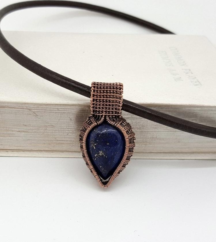 cute lapis lazuli - copper, copperjewelry - jakdawgems | ello