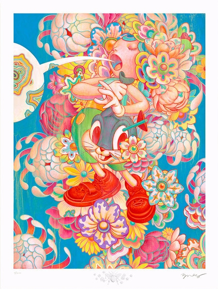 'Bouquet' James Jean. 18 24″ gi - geekynerfherder | ello
