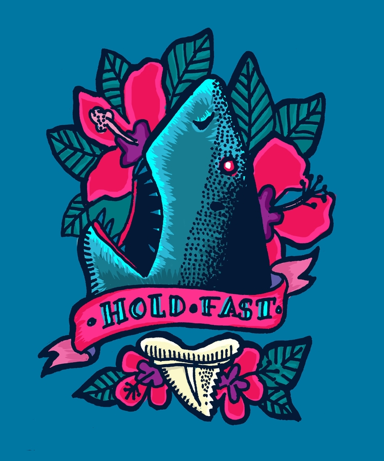 'Hold fast - illustration, illustrator - polkip | ello