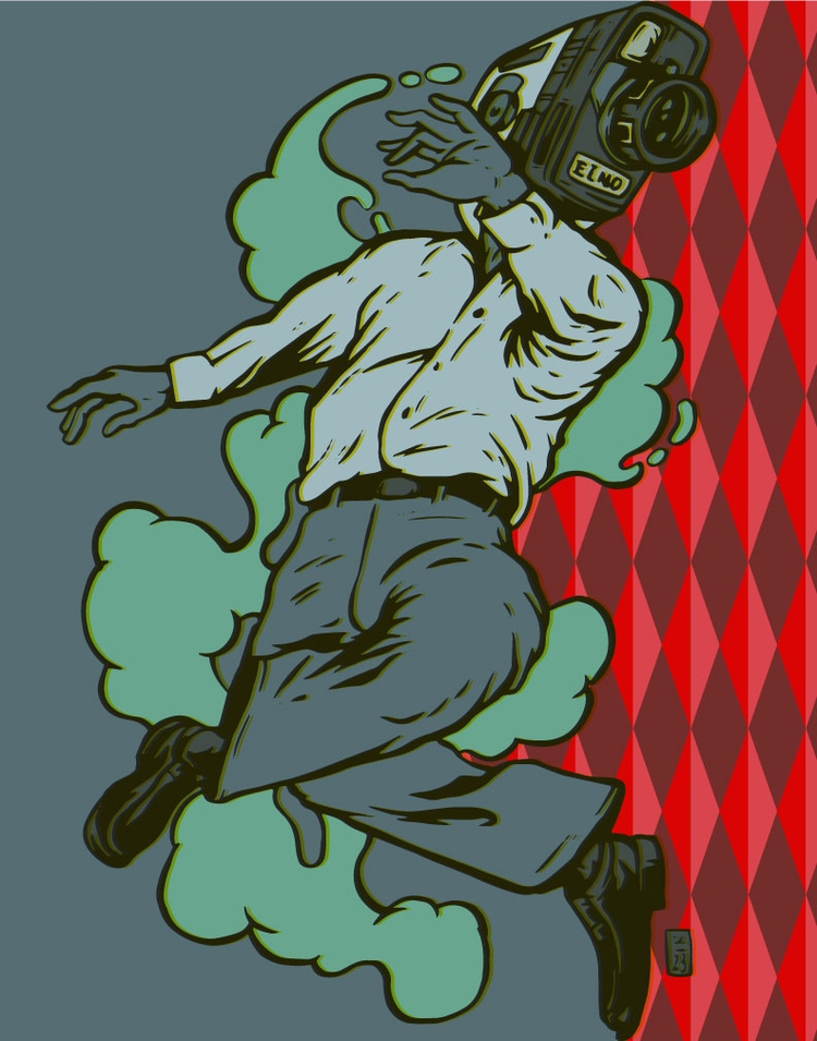 Motion Camera - illustration - thomcat23 | ello