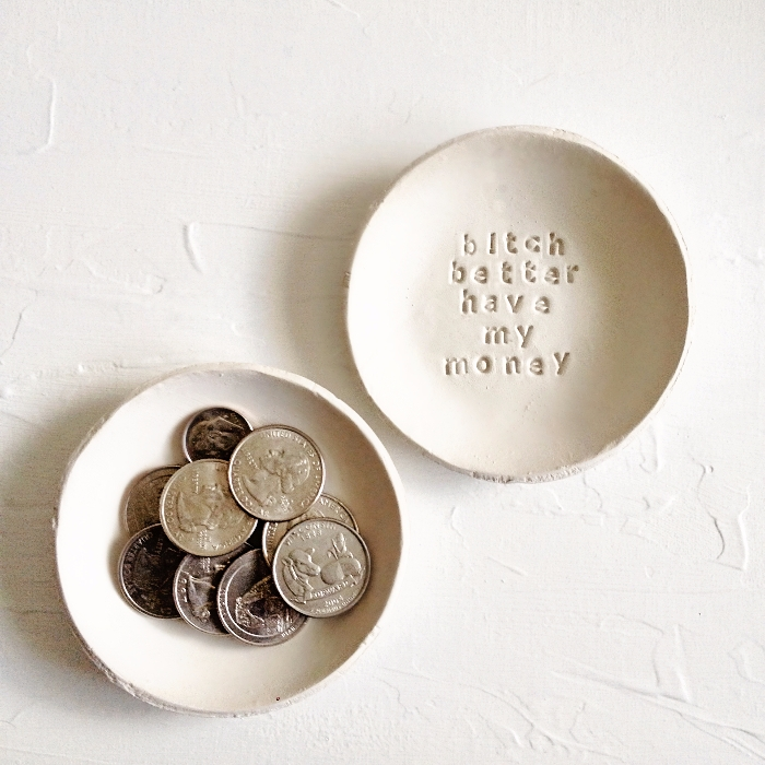 Set spare change dishes. plain  - azandairalee | ello