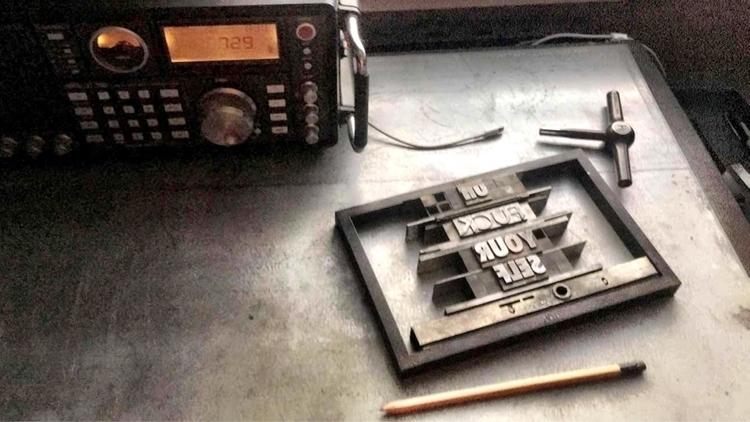 process   - letterpress - sheasmith   ello