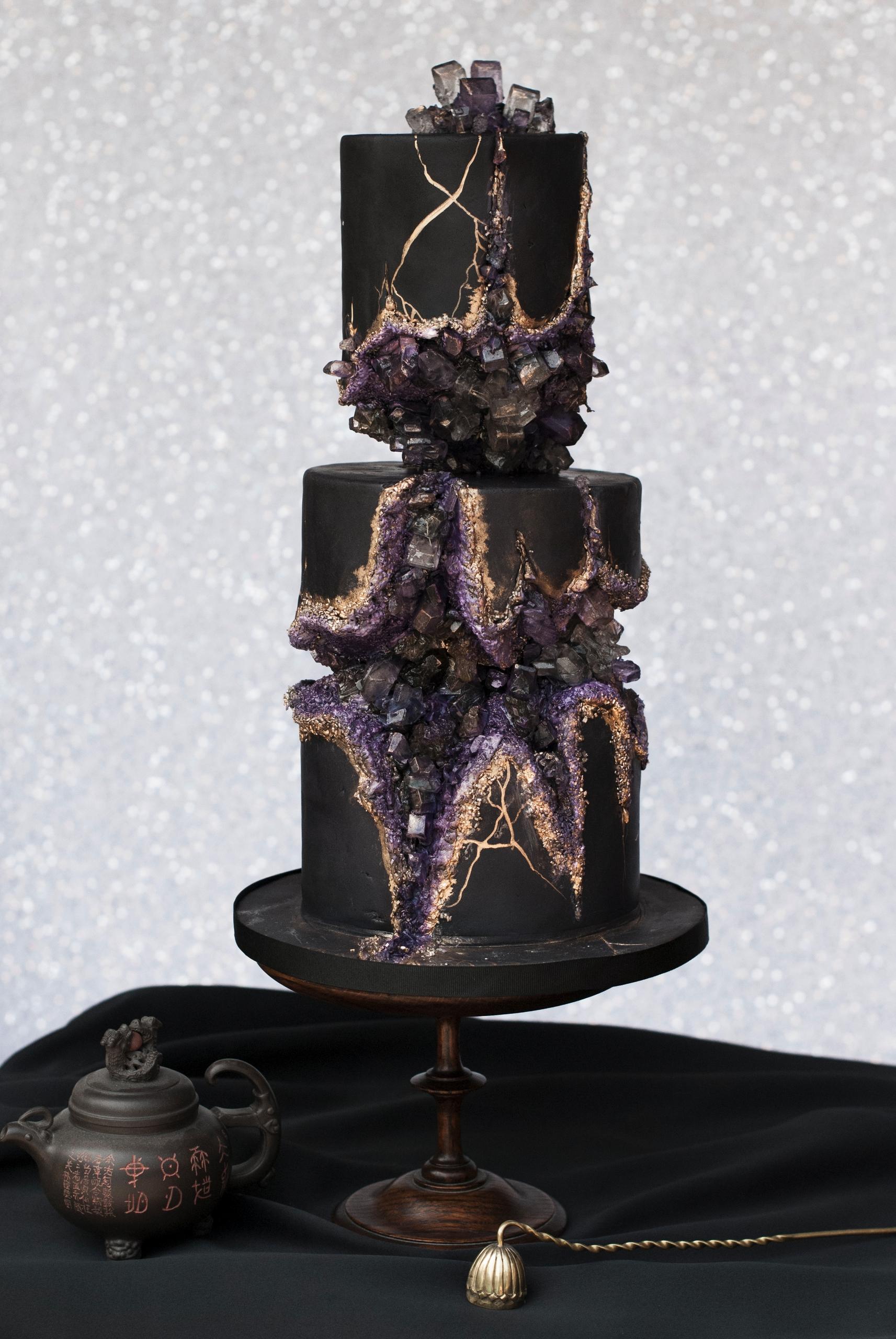 Magical sugar crystal cake - Cake - shelbyelizabethcakes | ello