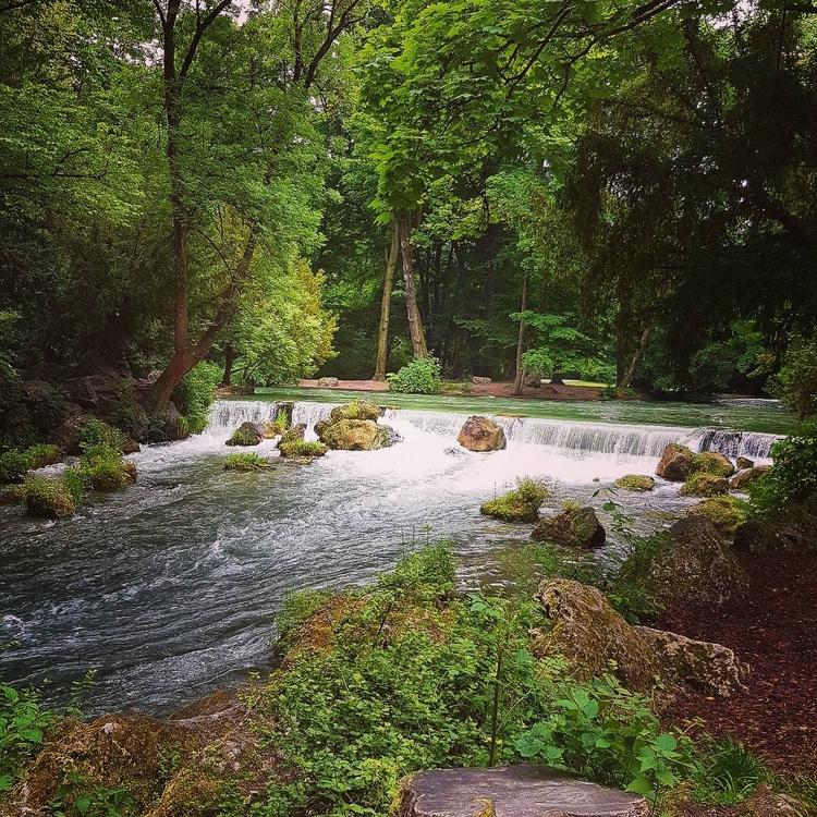 Heart Munich - English Garden - umez | ello