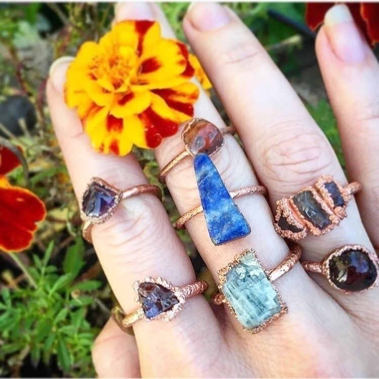 wear rings everyday- happiest  - therusticboheme | ello