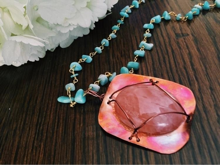 necklace pure copper ($50) supe - thecrystalsisters | ello