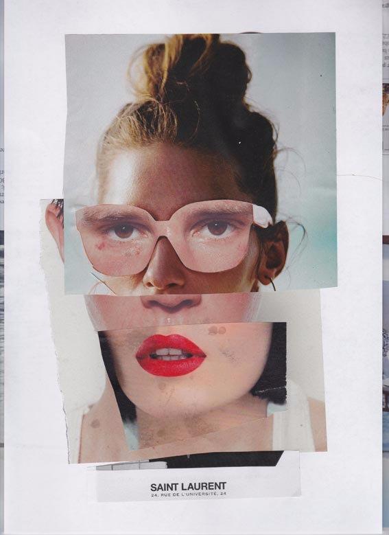 street collage Size A4. Handmad - ewalook | ello