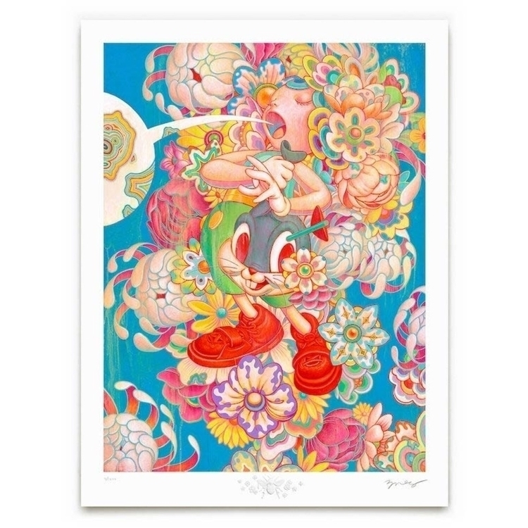 Bouquet, June 21, 7:59am PDT - jamesjean | ello