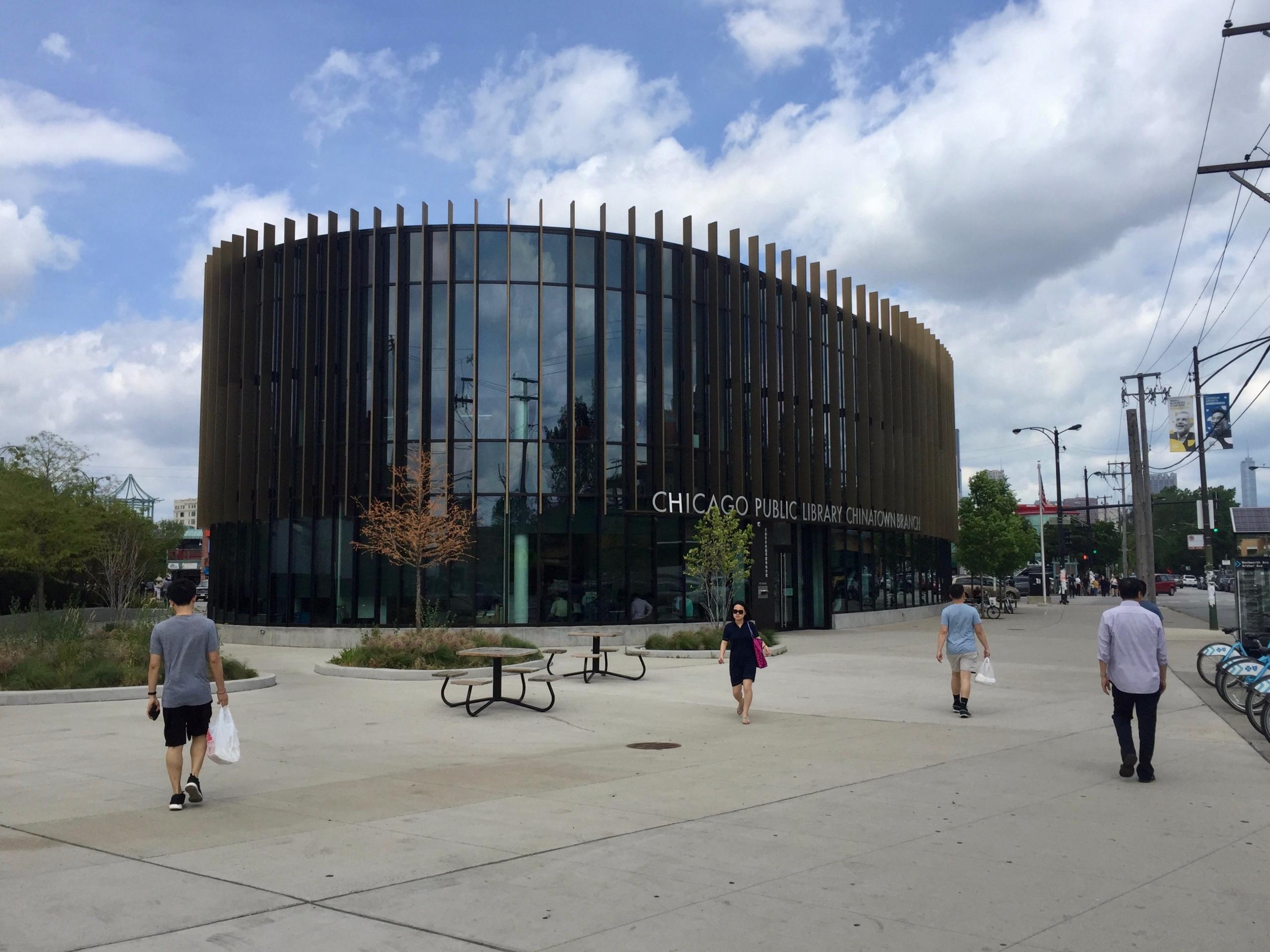 Chicago Public Library Chinatow - marksusina | ello