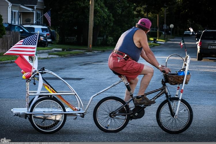 Easy Rider guy leisurely ride t - dangrabbit-photography | ello