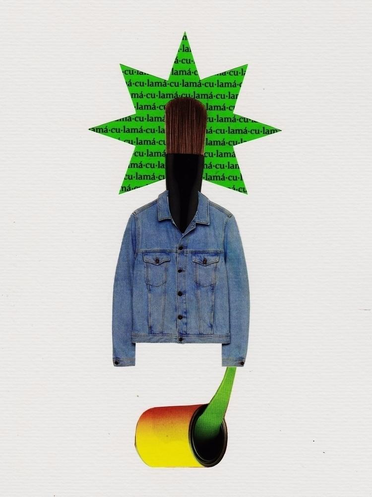 Mácula - Collage, Analogue, Colagem - marianabastoscollage | ello
