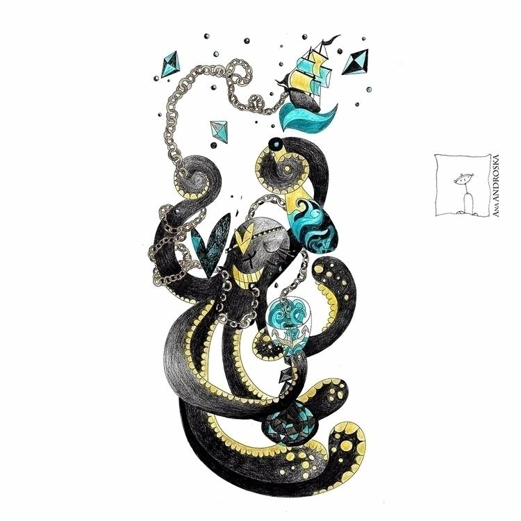 Illustration Drunk Love illustr - anaandroska   ello