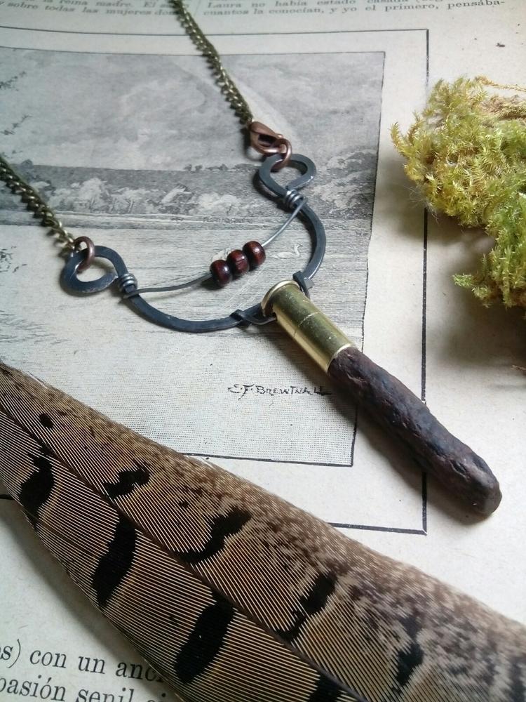 Fossil neckalce - fossiljewelry - kalabruixa | ello