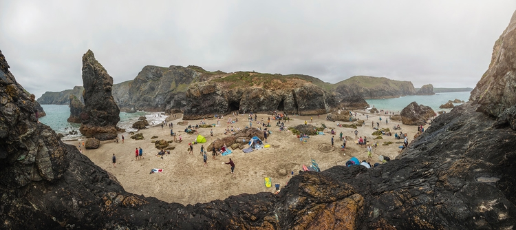 rocks sands Kynance Cove, west  - andrewbrooks | ello