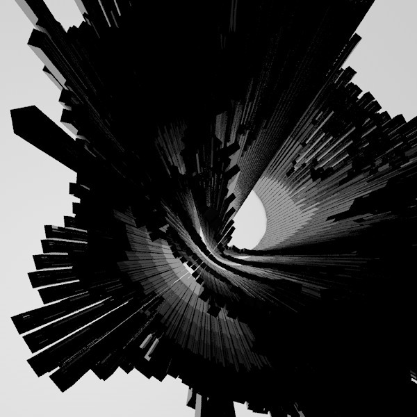 tunnel light - cinema4d, c4d, monochrome - jack-snow | ello