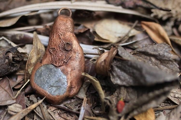 Copper electroformed snakeskin  - donni-didit   ello