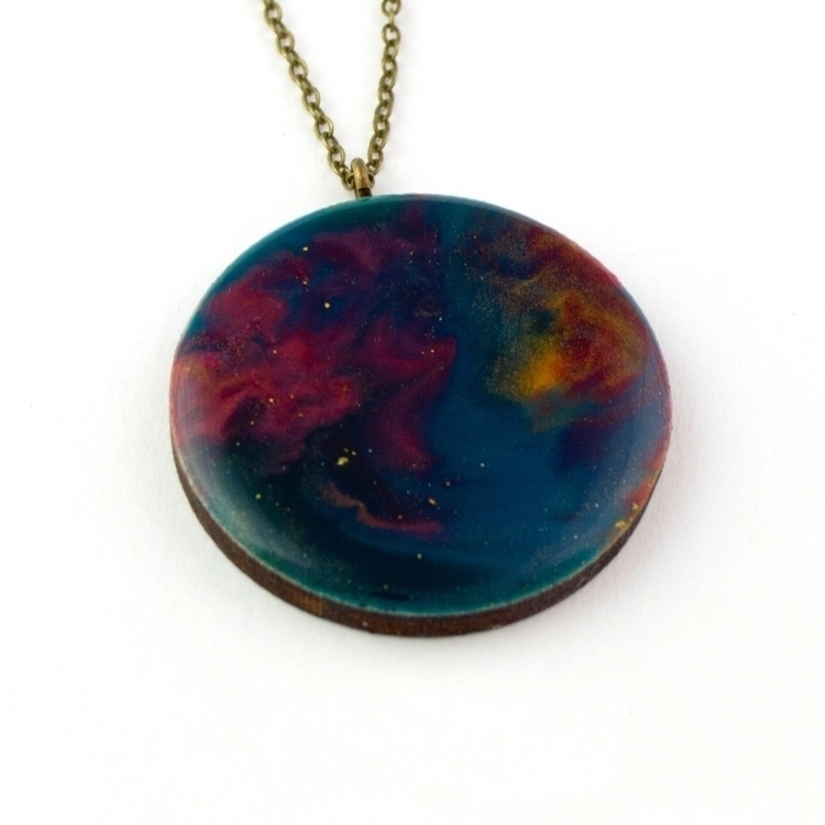 • ~ Resin necklace inspired Ori - deargeorge | ello