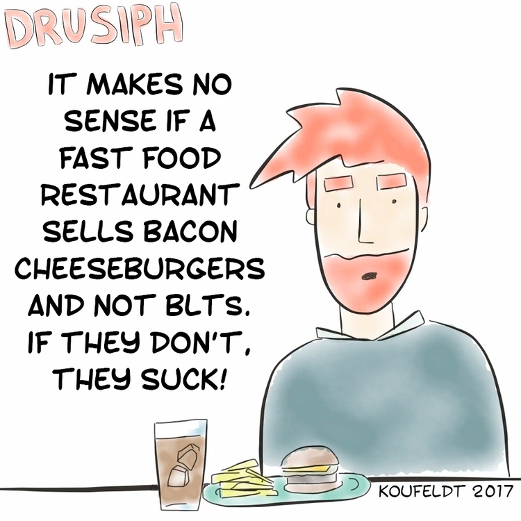 wednesday, drusiph, comic, comicstrip - drusiph | ello