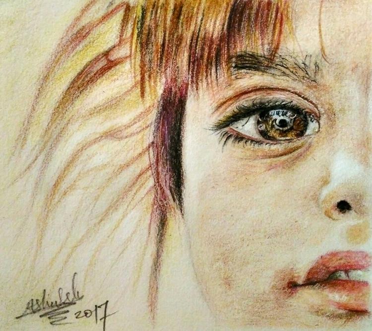pencil colors drawing paper Ins - ashutosht82 | ello