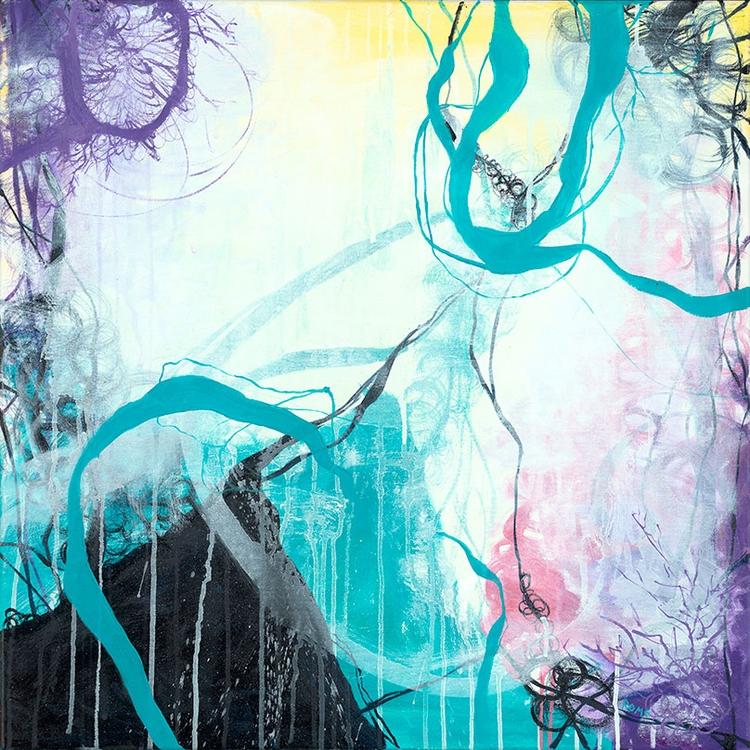 Ice Wind 24 Oil Canvas happy tu - cogwurx | ello