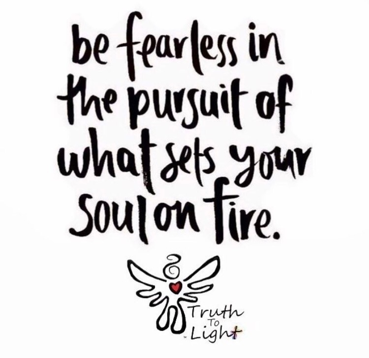 FEARLESS PURSUIT sets SOUL fire - truth_to_light | ello