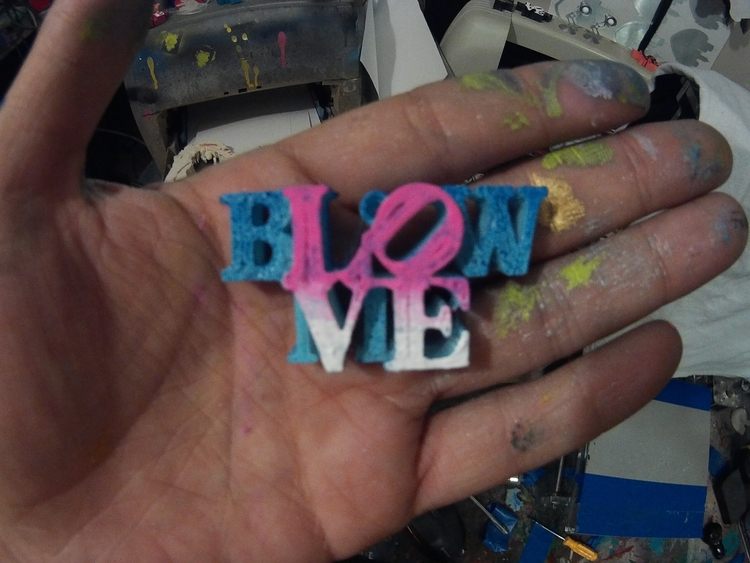 Blow Love Key Chains CS Stanley - csstanley | ello