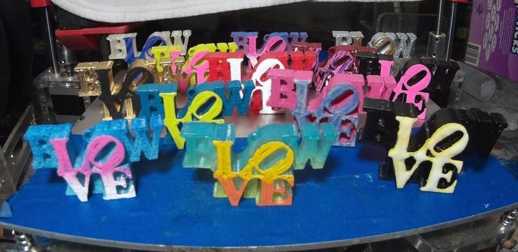 Blow Love Key Chains CS Stanley - csstanley | ello